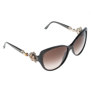 771ae0687fcc BVLGARI Brown Brown Gradient 8097-B Limited Edition Crystal Embellishe