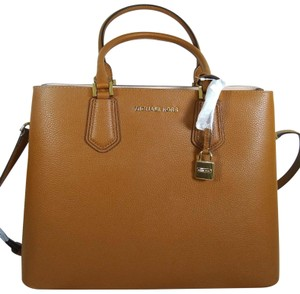 Michael Kors Leather 192317127102 Satchel in Luggage