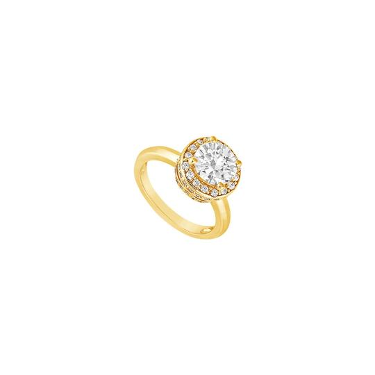 Preload https://img-static.tradesy.com/item/24429941/white-cubic-zirconia-engagement-18k-yellow-gold-vermeil-100-ct-czs-ring-0-0-540-540.jpg
