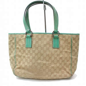 Gucci Shopper Eclipse Marmont Sylvie Soho Tote in Green