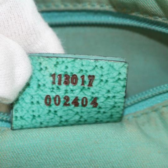 Gucci Shopper Eclipse Marmont Sylvie Soho Tote in Green Image 1