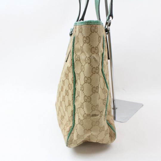 Gucci Shopper Eclipse Marmont Sylvie Soho Tote in Green Image 11