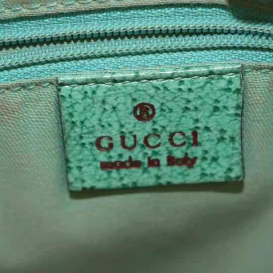 Gucci Shopper Eclipse Marmont Sylvie Soho Tote in Green Image 3