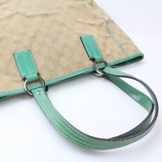 Gucci Shopper Eclipse Marmont Sylvie Soho Tote in Green Image 4