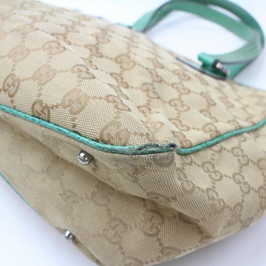 Gucci Shopper Eclipse Marmont Sylvie Soho Tote in Green Image 8