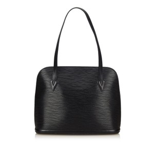 Louis Vuitton Saint Jacques St Jacques Neverfull Lusac Tote in Black
