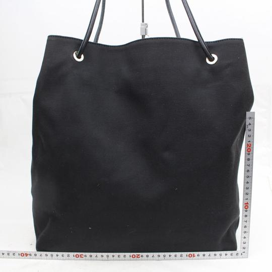 Gucci Shopper Shopping Cabas Tote in Black Image 5