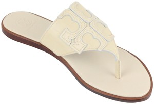 Tory Burch Dulce de leche / Cream Sandals