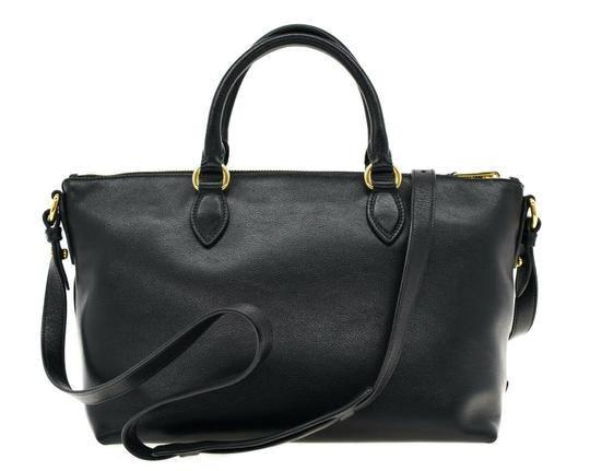 Prada Satchel Oversized Logo Shoulder Bag Image 2