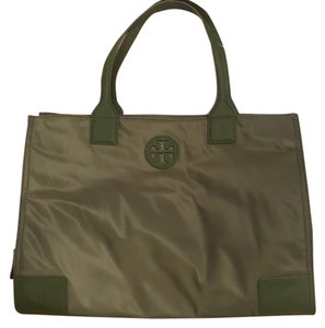 Tory Burch Tote in Banana Leaf (Dark Olive Green)