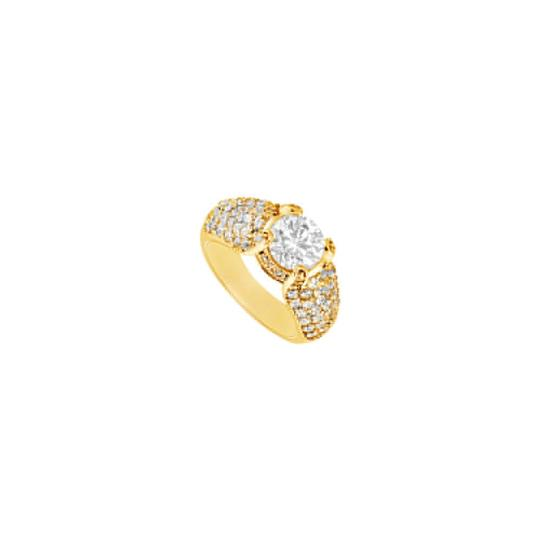 Preload https://img-static.tradesy.com/item/24430146/white-cubic-zirconia-engagement-18k-yellow-gold-vermeil-200-ct-czs-ring-0-0-540-540.jpg