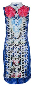 Blue Maxi Dress by Peter Pilotto Embellished Sequin