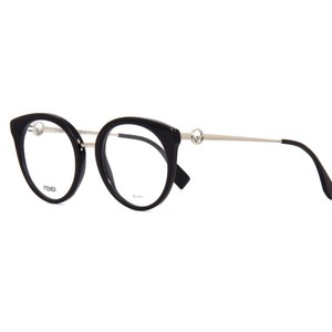 26f8155d7f Fendi FF0303 Round Cat Eye Optical with Metal Temples