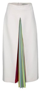 MARY KATRANTZOU Striped Detail Skirt Multicolor