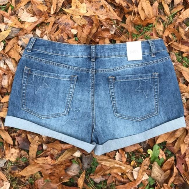 Authentic American Heritage Cuffed Shorts Blue Image 1