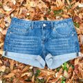 Authentic American Heritage Cuffed Shorts Blue Image 3