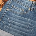 Authentic American Heritage Cuffed Shorts Blue Image 5