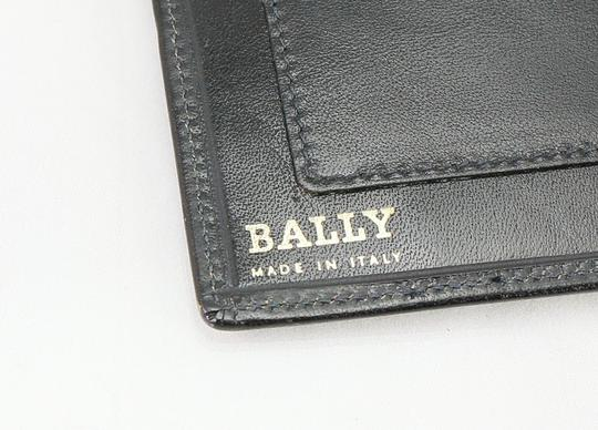 Bally Bally Black Leather Letter Note Pad Image 9