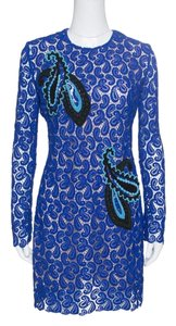 MARY KATRANTZOU Paisley Lace Longsleeve Dress