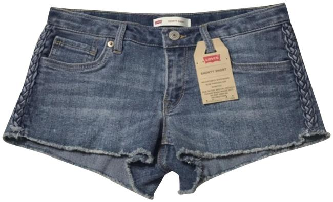 Levi's Cut Off Shorts Blue Image 0