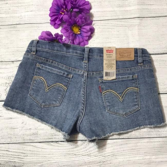 Levi's Cut Off Shorts Blue Image 1
