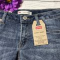Levi's Cut Off Shorts Blue Image 4