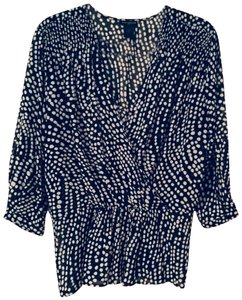 Ann Taylor Top black and white