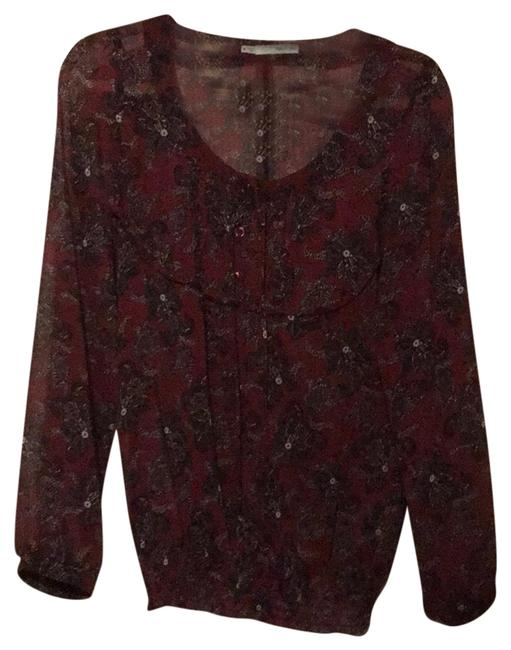 Preload https://img-static.tradesy.com/item/24430633/maurices-maroon-and-black-sheer-blouse-size-8-m-0-1-650-650.jpg