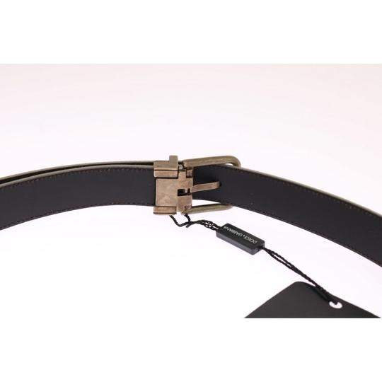 Dolce&Gabbana White / Gold D11024-4 Leather Buckle Belt (90 Cm / 36 Inches) Groomsman Gift Image 3