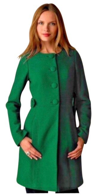 Item - Emerald Green Br Wool Coat Size 0 (XS)