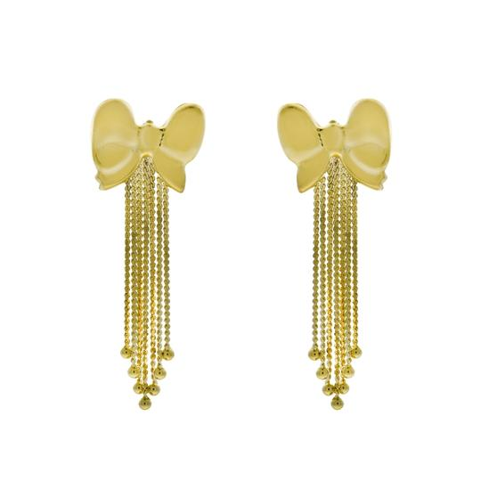 Preload https://img-static.tradesy.com/item/24430840/avital-and-co-jewelry-yellow-14k-gold-bow-shaped-dangle-earrings-0-0-540-540.jpg