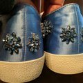 Anthropologie Alice Olivia Size Wedgewood blue with blue gemstones and crystals Athletic Image 10