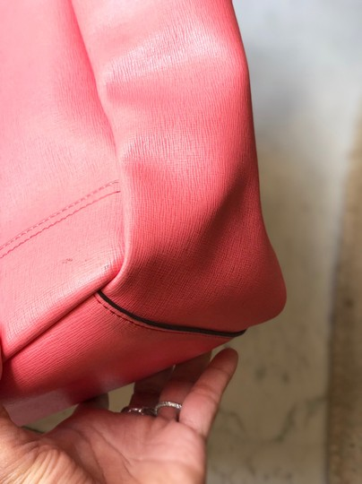 Coach Tote in Coral Image 10