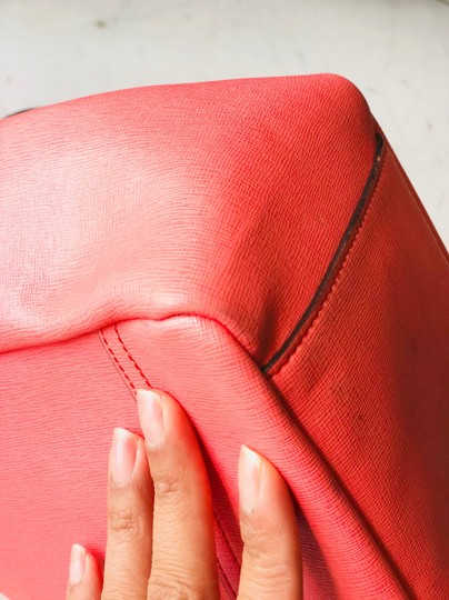 Coach Tote in Coral Image 11