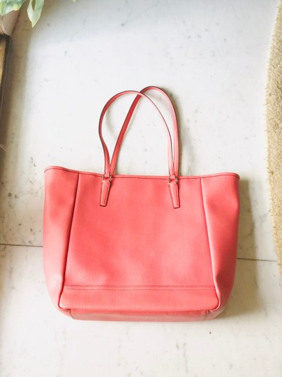 Coach Tote in Coral Image 2