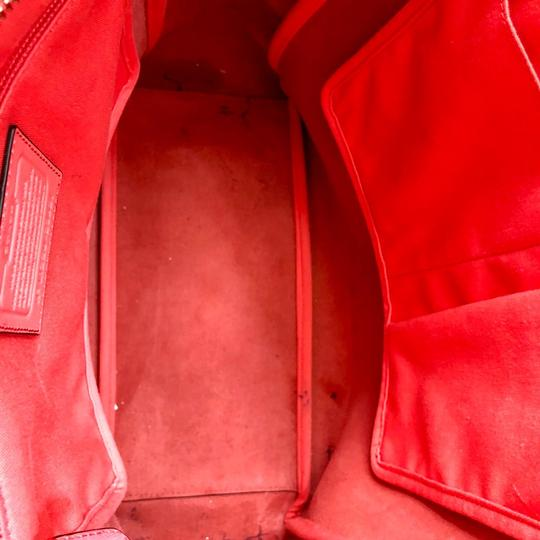 Coach Tote in Coral Image 5