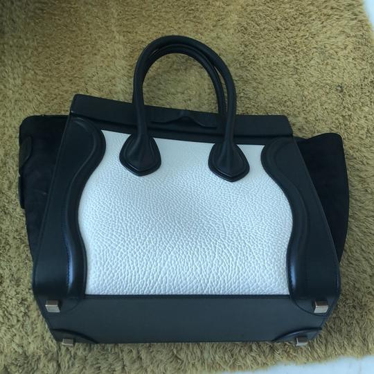 Céline Satchel in black and white Image 2