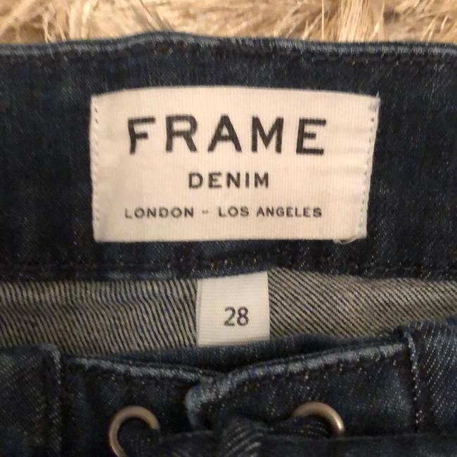 FRAME Capri/Cropped Denim-Medium Wash Image 3