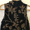Ivanka Trump Velvet Sleeveless Size 14 L Large New With Tags Dress Image 1