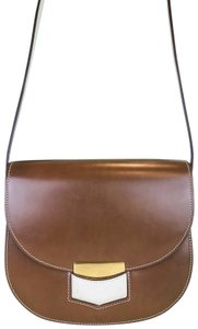 Céline Leather Flap Trotteur Cross Body Bag