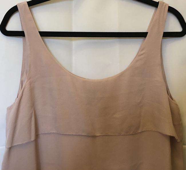 Eileen Fisher Scoop Neck Silk Tiers Size M 8 To 10 Dress Image 1