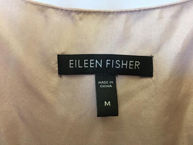 Eileen Fisher Scoop Neck Silk Tiers Size M 8 To 10 Dress Image 2