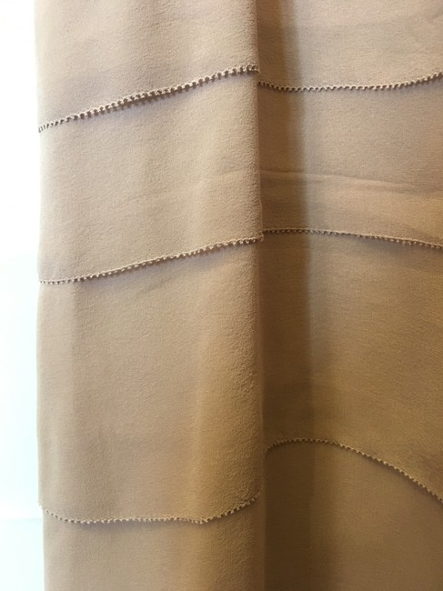 Eileen Fisher Scoop Neck Silk Tiers Size M 8 To 10 Dress Image 3