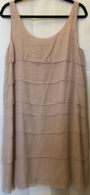 Eileen Fisher Scoop Neck Silk Tiers Size M 8 To 10 Dress Image 5