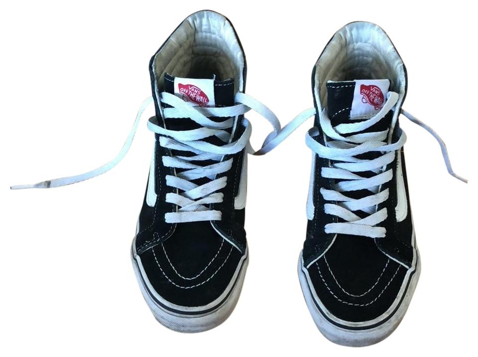 Vans Black Sk8-hi Slim Sneakers Size US 7 Regular (M 4a966488ae