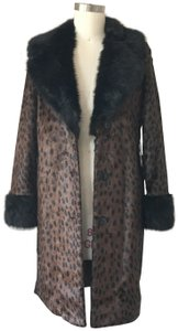 REVOLVE Animal Print Print Faux 60's Leopard Fur Coat