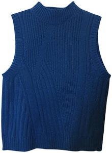 Diane von Furstenberg Wool Cashmere Blend Mock Turtle Neck Size Petite 0-2 New With Tags Sweater