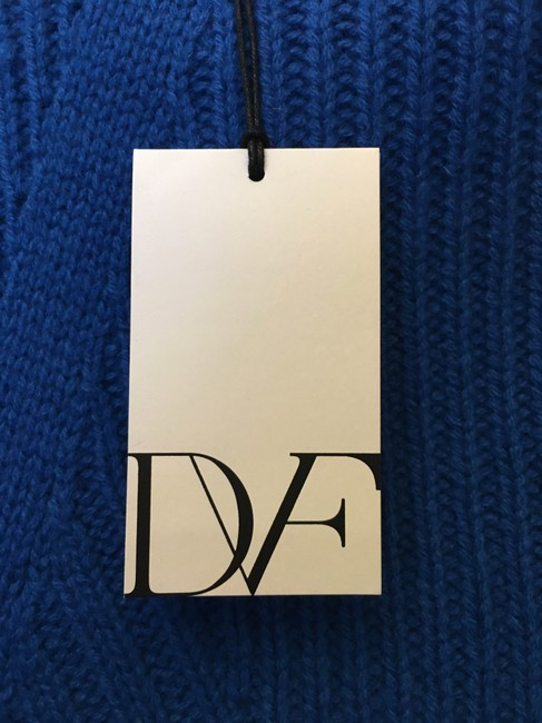 Diane von Furstenberg Wool Cashmere Blend Mock Turtle Neck Size Petite 0-2 New With Tags Sweater Image 3