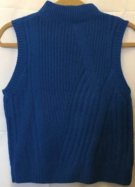 Diane von Furstenberg Wool Cashmere Blend Mock Turtle Neck Size Petite 0-2 New With Tags Sweater Image 6