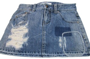 A|X Armani Exchange Mini Skirt Blue